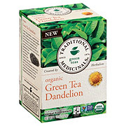 Traditional Medicinals Organic Dandelion Green Tea Bags