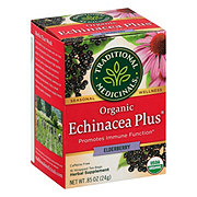 Traditional Medicinals Organic Echinacea Plus Elderberry Herbal Tea