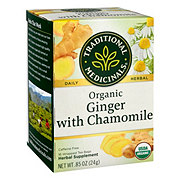 Traditional Medicinals Organic Golden Ginger Caffeine Free Herbal Tea
