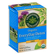 Traditional Medicinals Organic Lemon Everyday Detox Herbal Tea Bags
