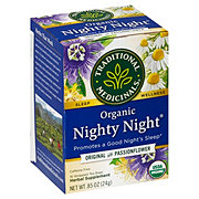 Traditional Medicinals Organic Nighty Night Caffeine Free Herbal Tea Bags