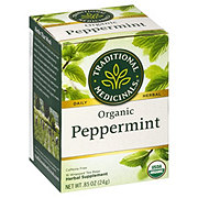 Traditional Medicinals Organic Peppermint Herbal Tea