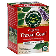 Traditional Medicinals Organic Throat Coat Caffeine Free Herbal Tea