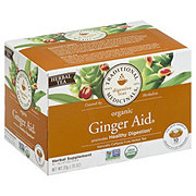 Traditional Medicinals Single Serve Cup Herbal Tea, Ginger Aid