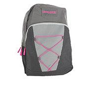 Trailmaker Backpack Grey with Pink Crossstrings