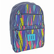 Trailmaker Blue Triangle Pattern Printed Promo Backpack