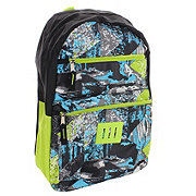 Trailmaker Boys Print Promo Backpack, Green and Blue