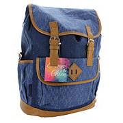 Trailmaker Corduroy Drawstring Cotton Backpack