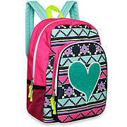 Trailmaker Glitter Applique Backpack, Assorted Designs