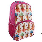 Trailmaker Pink Ice Cream Cone Backpack