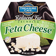 Treasure Cave Feta Cheese Reduced Fat Crumbled