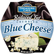 Treasure Cave Reduced Fat Crumbled Blue Cheese
