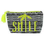 Trend Zone Cosmetic Bag Smile Black & White Palm