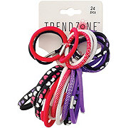 Trend Zone Elastic Heart Pony Tail Holders