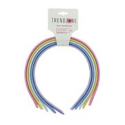 Trend Zone Glitter Woven Headband, Assorted Colors