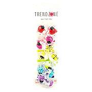 Trend Zone Ladybug Flower Hair Ties