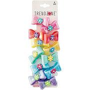Trend Zone Pastel Bow Hair Ties
