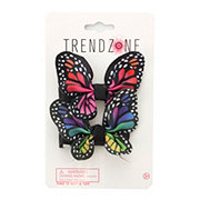 Trend Zone Ribbon Butterfly Clips