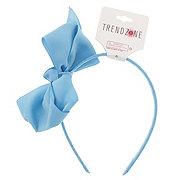 Trend Zone Satin Single Ribbon 4 Loopbow Headband, Assorted Colors