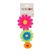 Trend Zone Sequin Flowers Stretch Headwrap