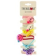Trend Zone Smiley Face Hair Ties