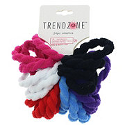 Trend Zone Terry Ponytail Bands, 24 PK