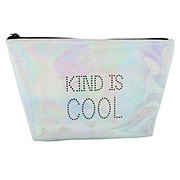Tri Coastal Design Pyramid Cosmetic Pouch Kind Is Cool