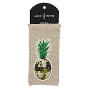 Tri Coastal Design Sunglass Sleeve Havana Pineapple