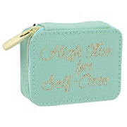 Tri Coastal Design Zip Pill Box High Five For Self Care