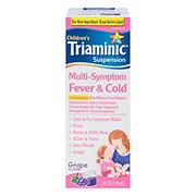 Triaminic Children's Children's Multi-symptom Fever And Cold Grape Suspension