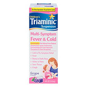 Triaminic Children's Multi-Symptom Fever & Cold Suspension