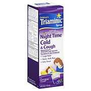 Triaminic Night Time Cold & Cough Grape Flavor Syrup