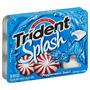 Trident Splash Sugar Free Center Filled Peppermint Swirl Gum