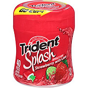 Trident Splash Unwrapped Strawberry Lime Sugar Free Gum