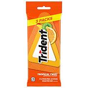 Trident Tropical Twist Sugar Free Gum, multipack
