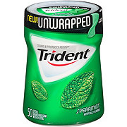Trident Unwrapped Spearmint Sugar Free Gum