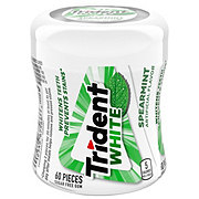 Trident White Unwrapped Spearmint Sugar Free Gum