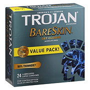 Trojan BARESKIN Lubricated Condoms