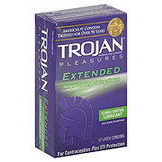 Trojan Extended Condoms with Climax Control Lubricant