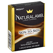 Trojan Naturalamb Luxury Condoms