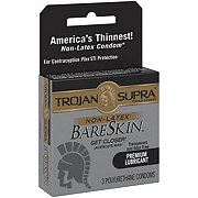 Trojan Supra BARESKIN Lubricated Condoms