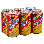 Tropi-Cola Sparkling Cola Champagne Soda 12 oz Cans