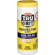 Tru Grit Lemon Scent Disinfecting Wipes
