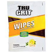Tru Grit Lemon Scented Disposable Furniture Polish Wipes