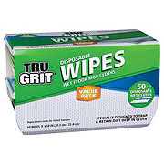 Tru Grit Wet Floor Wipes Value Pack