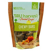 TRU Harvest Chewy Bars Chicken Cheese Tomato Treats