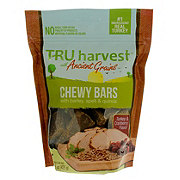 TRU Harvest Chewy Bars Turkey & Cranberry Dog Treats