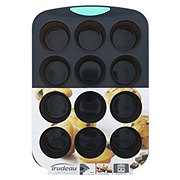 Trudeau Silicone 12 Cup Muffin Pan