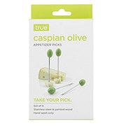True Fabrications Caspian Olive Appetizer Picks