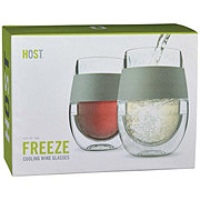 True Fabrications Freeze 2 ct Cooling Wine Glass